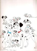 101 Dalmations by Stray-Sketches