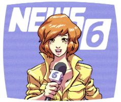 April on Channel 6 News by hugohugo