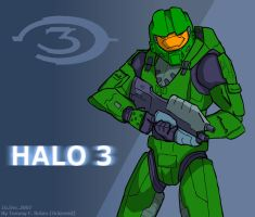 Master Chief Fan Art 2 by Ockeroid