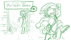 Hyrule Shopping by Claymore32