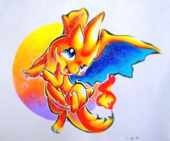 Charizard Y by Silver-Artemis-Moon