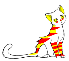 Free fantasy cat Adoptable 8 (CLOSED) by DetritusDroid