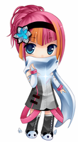 Gaia chibi commission 1 by shiroyuki-ai