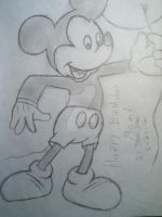 Mickey Mouse by Artisticgram