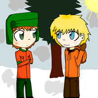 Kyle and Kenny by Toejones