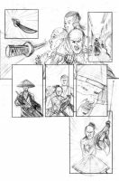 Assassin 0 page 4, pencils by VikThor
