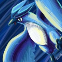 Articuno--practice by Togechu