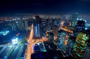 ortigas nightscape 7 by kjaex