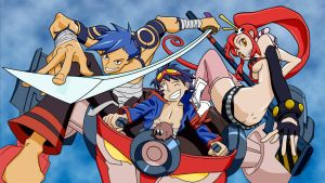 Gurren Lagann by Pritchenko