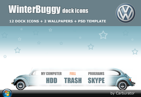 WinterBuggy dock icons by Carburator