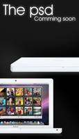 Comming soon - ibook psd by taxO