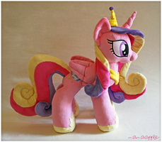 Princess Cadance Plushie by mamaapple