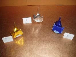 Origami Cats by NordyFox
