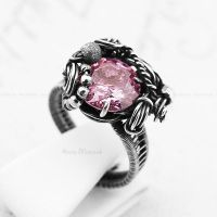 BE PINK - ring I by AnnaMroczek