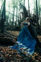 Queen of the forest streams II by 04katty