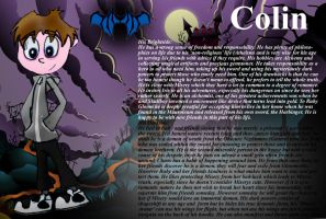 Colin- More Info on my RG OC by MysticM
