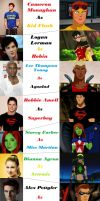Young Justice Fan Cast by RemusLupinGirl
