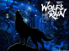 Wallpapers of wolf's rain by Inuchan1986