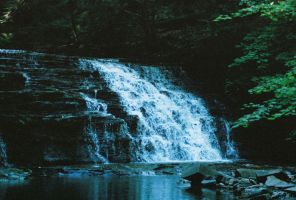 First Waterfall 1 by Donohue