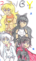 Team RWBY by Nicktoons4ever