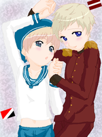 Sealand x Latvia by Darkfire75
