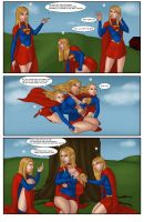 Supergirls and Mr Ninja pg 22 by LexiKimble