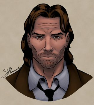 Fables: Bigby Wolf by itallunravels