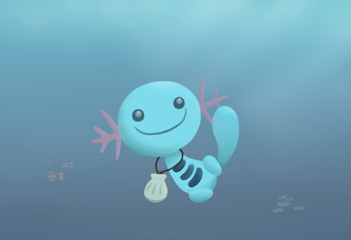 Wooper by TavsTheReaper