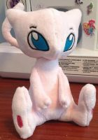 Mew Plush Sold. by Mimi-the-Skitty