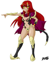 Zafina, The Warrior of EDEN IV by Kiwi-Punch
