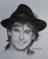 Ian Somerhalder by AlenkaV