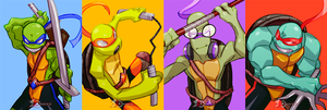 TMNT by zeoarts