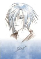 Zexion sketch by Rosaka-Chan