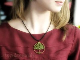 """Tree of Life"" necklace by Arctida"