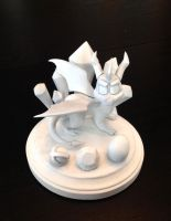 Spyro Sculpture - Primed by Gatobob