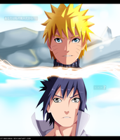 Because you are my friend... - NARUTO by StingCunha