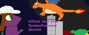 Elliot and the Transformed World Title Card. by thetrans4master