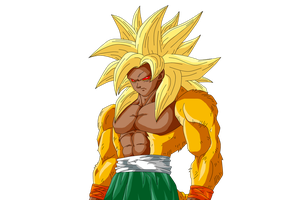 Goku Perfected True Super Saiyan  (RoC) by Nassif9000