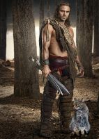 Gannicus and His Daemon by LJ-Todd