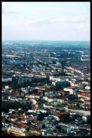 Berlin Cityscape I by Larxziss