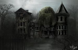 ghost-house by lafa-art