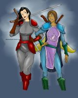 World of Warcraft Korrasami by dbsilverdragon