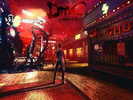 DmC Devil May Cry (2013) Artwork Edition - MOD by somebody2978