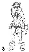 .:Arcanine:.EDITED LINE WORK by DoctorPixel
