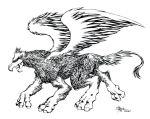 griffin - inks by irving-zero