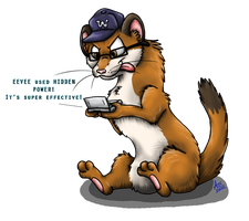 Vocab the Weasel by Dragowl