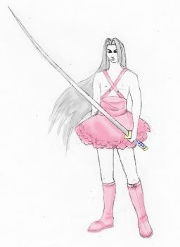 Scary Sephiroth by Tamie-Lee