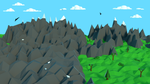 Low Poly Mountains by Valdemaras