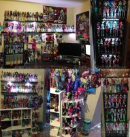 My Monster High Collection by Chibi-Warmonger