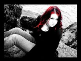 Me With Red Hair by x0BrokenxGlass0x